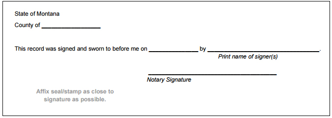 notary signatures examples
