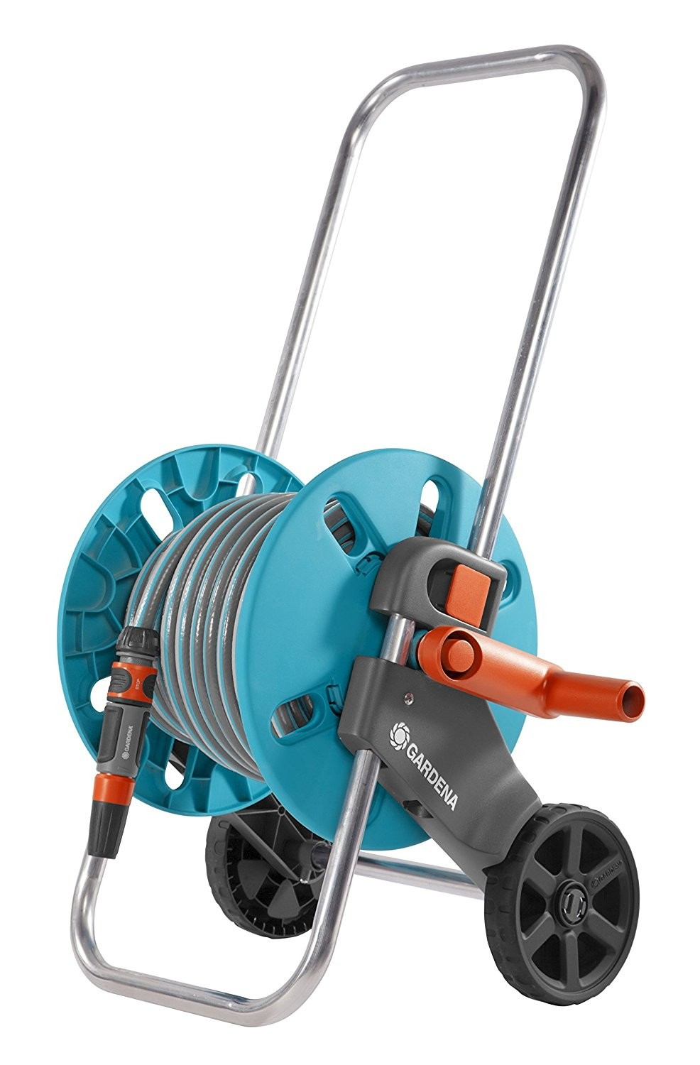 Gardena Gartenplaner Anleitung Gardena Aquaroll S Cart Reel Manual Blue Grey Orange