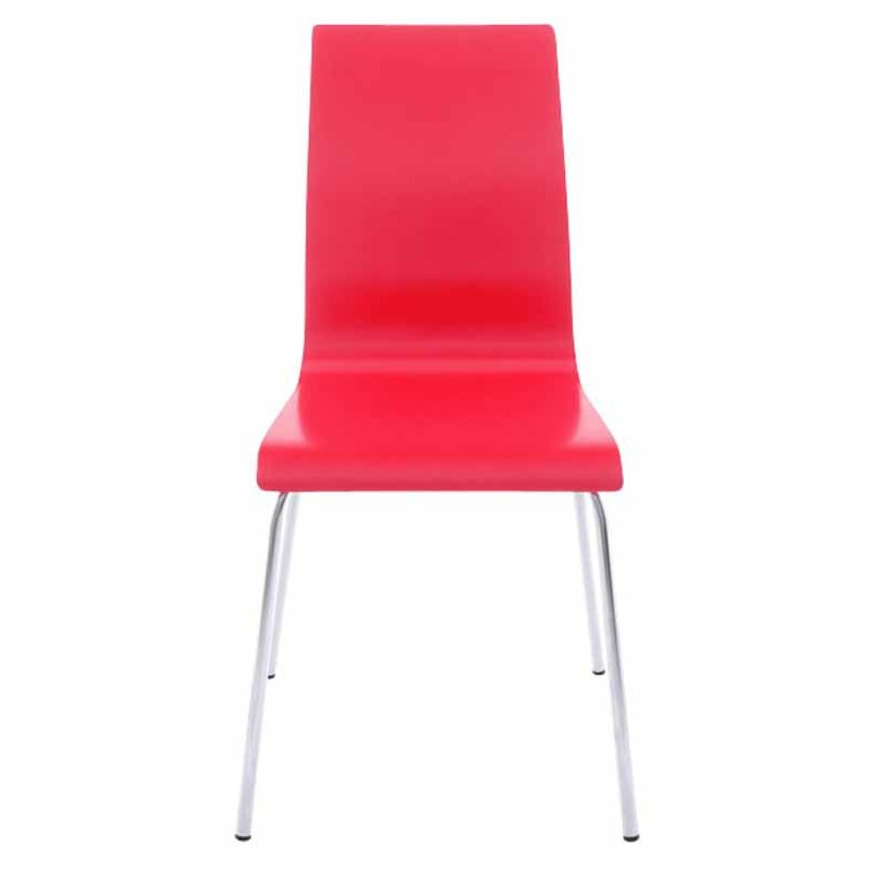 Chaise Design Rouge Chaise Design Tina Rouge