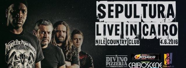 SEPULTURA Concert In Egypt Shut Down By Police