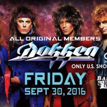 Reunited DOKKEN Performs In Sioux Falls, South Dakota: Video Footage, Photos