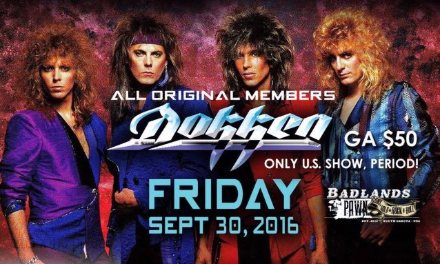 Reunited Classic Lineup Of DOKKEN: Pro-Shot Footage Of 'Breaking The Chains' Performance From Sioux Falls Concert
