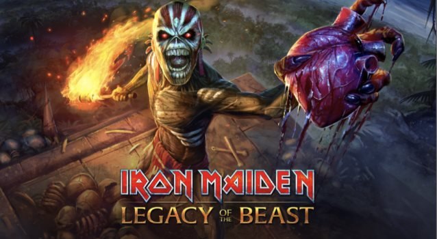IRON MAIDEN Brings 'The Book Of Souls' Arena To 'Legacy Of The Beast' Mobile Game