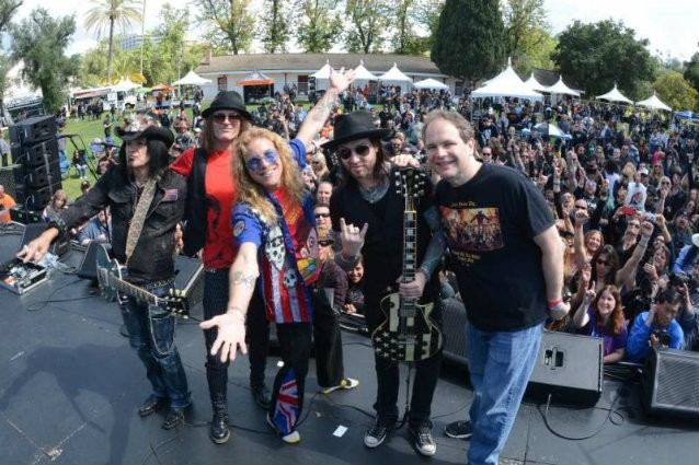 'Ride For Ronnie' Raises $40,000 For Ronnie James Dio Stand Up And Shout Cancer Fund