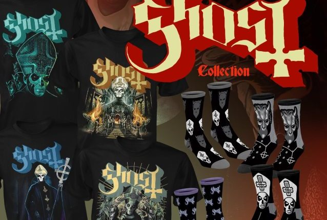 GHOST Teams With Horror Apparel Company FRIGHT-RAGS For Exclusive Merchandise