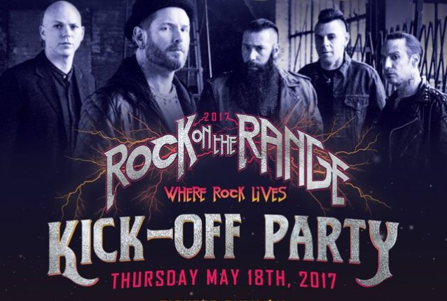 STONE SOUR Pays Tribute To CHRIS CORNELL With 'Outshined' Performance At Rock On The Range Kick-Off Party (Video)