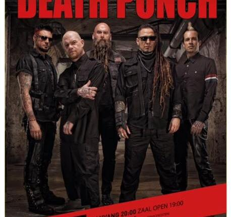 FIVE FINGER DEATH PUNCH Cuts Dutch Concert Short, Performs Two Songs Without Singer IVAN MOODY