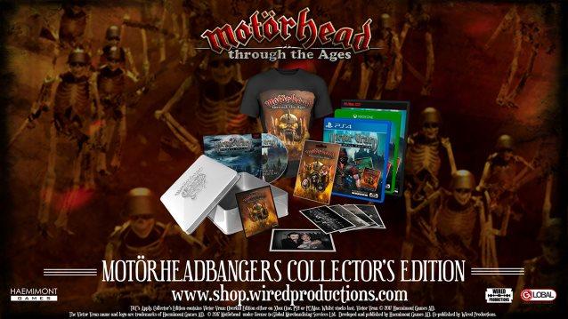MOTÖRHEAD Videogame 'Motörhead Through The Ages' Now Available