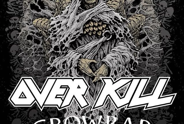 OVERKILL And CROWBAR To Join Forces For 2017 'Metal Alliance Tour'