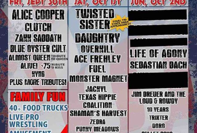 TWISTED SISTER Sues ROCK CARNIVAL Festival Promoter Over Unpaid Concert Fee