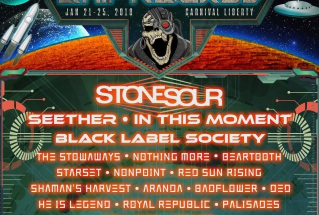 STONE SOUR, SEETHER, IN THIS MOMENT Set For Next Year's SHIPROCKED