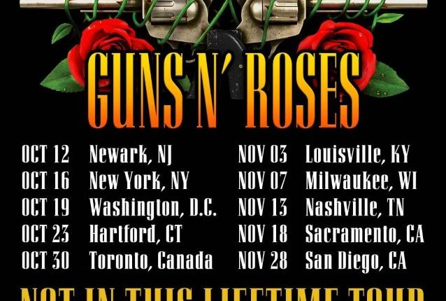 GUNS N' ROSES: Second Part Of European-Tour Video Recap; Newly Announced Shows On Sale