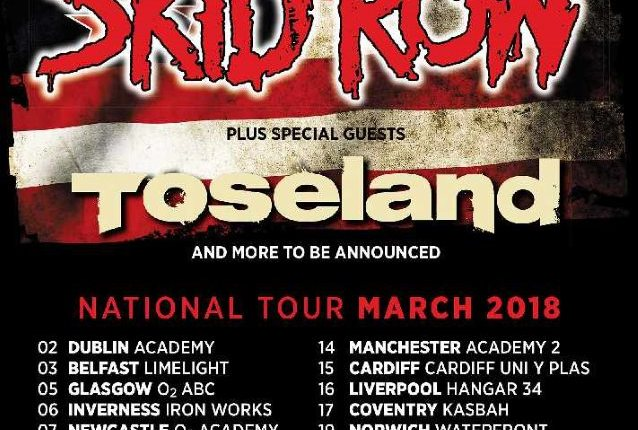 SKID ROW Announces March 2018 U.K. Headlining Tour