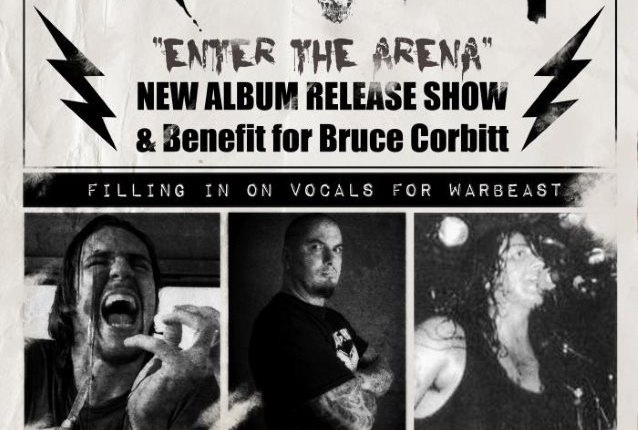 Video: PHILIP ANSELMO Sings For WARBEAST At 'Enter The Arena' Record-Release Show