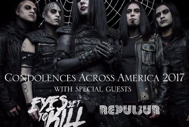 WEDNESDAY 13 Announces Second Leg Of 'Condolences Across America 2017' Tour