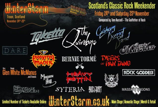 HEAVY PETTIN' To Reunite For Appearance At Scotland's WINTERSTORM Festival