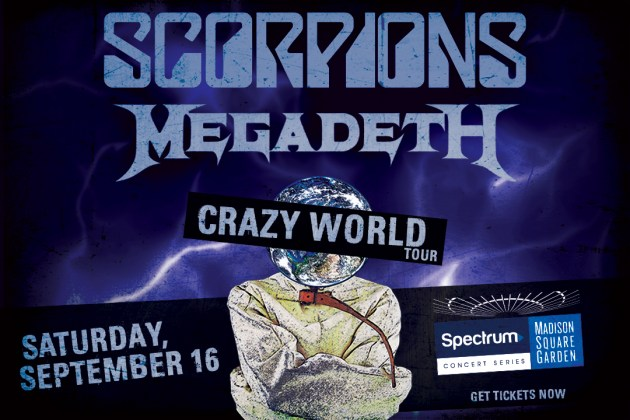 Watch MEGADETH Perform At Madison Square Garden