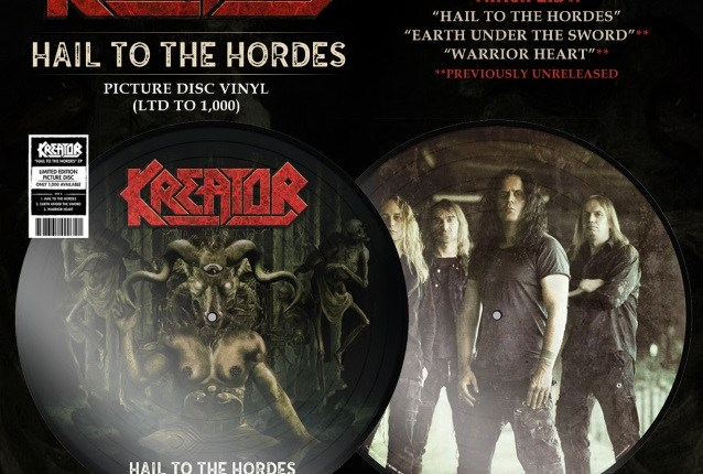 KREATOR Releases Music Video For 'Hail To The Hordes'