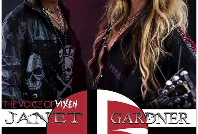 Video: VIXEN's JANET GARDNER Performs At Whisky A Go Go In Hollywood