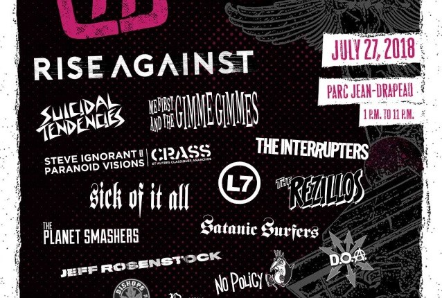 RISE AGAINST And SUICIDAL TENDENCIES Set For '77 MONTRÉAL Festival