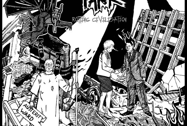 SEPTIC TANK Feat. REPULSION, Ex-CATHEDRAL Members: 'Rotting Civilisation' Album Details Revealed