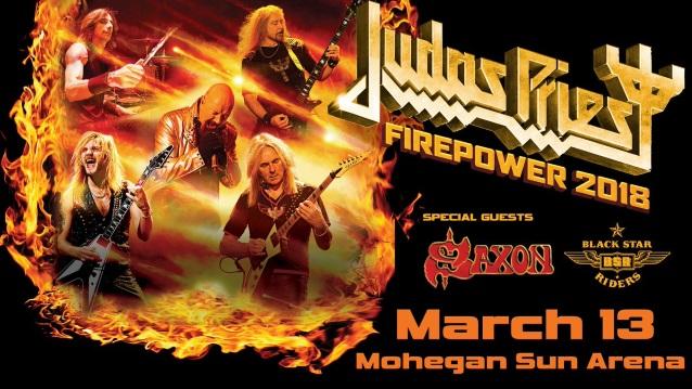 JUDAS PRIEST Kicks Off 'Firepower' World Tour In Wilkes-Barre (Video)