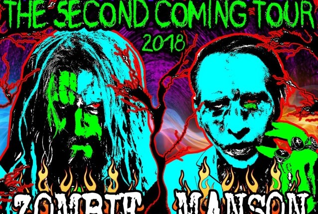 ROB ZOMBIE And MARILYN MANSON To Join Forces For 'Twins Of Evil – The Second Coming' Summer 2018 Tour