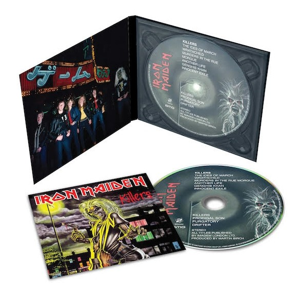 IRON MAIDEN's Acclaimed Remasters Get CD Digipak Treatment