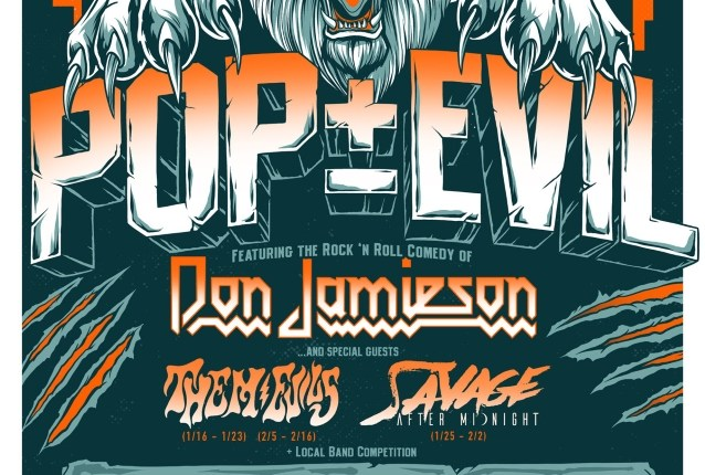 POP EVIL Announces January/February 2019 U.S. Tour
