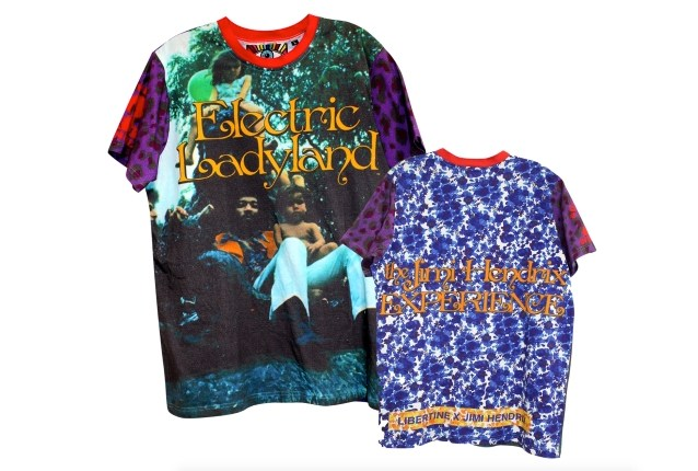 JIMI HENDRIX-Inspired Luxury Men's And Women's Apparel Coming In The Spring