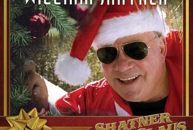 WILLIAM SHATNER Unveils Music Video For 'Rudolf The Red Nosed Reindeer' Feat. ZZ TOP's BILLY GIBBONS