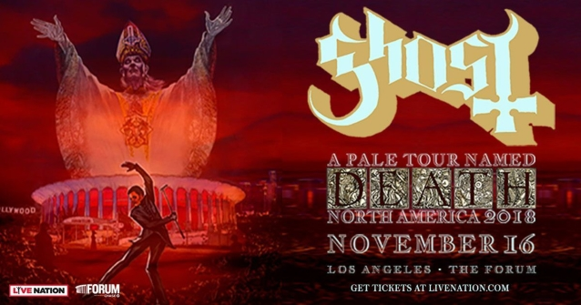 GHOST Plays Its First-Ever U.S. Arena Headlining Concert In Los Angeles (Video)