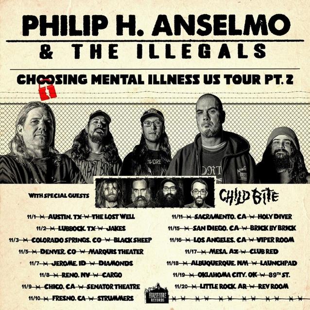Watch PHILIP ANSELMO Perform Mini-Set Of PANTERA Classics In Austin