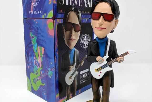 STEVE VAI: Limited-Edition Bobblehead Available From GUITAR GODS