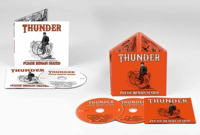 THUNDER To Release 'Please Remain Seated' In January