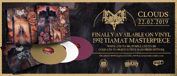 TIAMAT's 'Clouds' To Be Reissued In February
