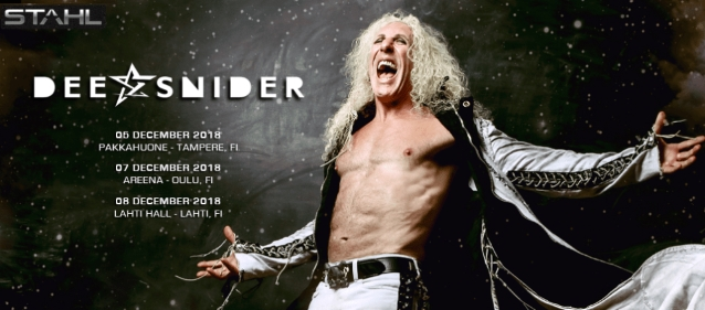 Video: DEE SNIDER Performs In Tampere, Finland