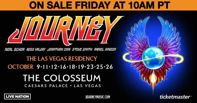 JOURNEY Announces 2019 Las Vegas Residency