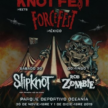 SLIPKNOT's KNOTFEST Joins Forces With FORCEFEST For Two-Day Event In Mexico City