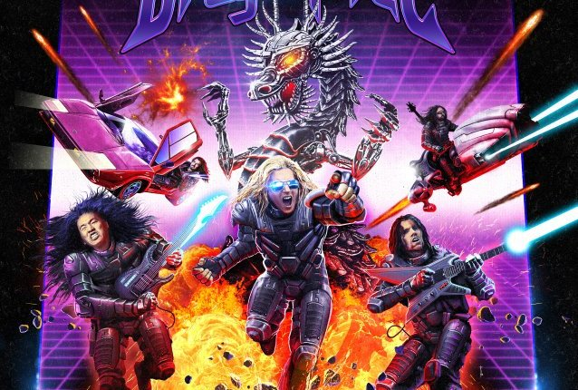 DRAGONFORCE Releases Animated Music Video For 'Razorblade Meltdown'