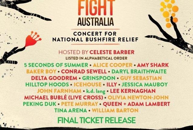 FOX To Air Coverage Of 'Fire Fight Australia' Concert Featuring QUEEN + ADAM LAMBERT And ALICE COOPER