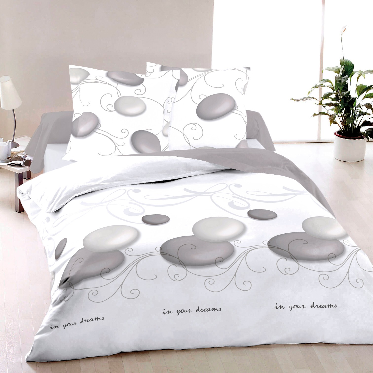 Bettwäsche 260x220 Zen 100 Cotton Bed Linen Set Duvet Cover And Pillow