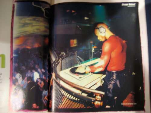 Green Velvet in Muzik Magazine from 1997