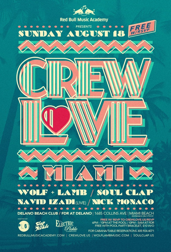 Crew Love Miami Party
