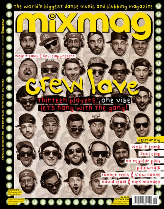 Crew Love Mixmag Takeover