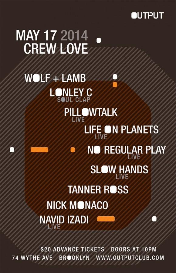 Come to Crew Love Brooklyn!