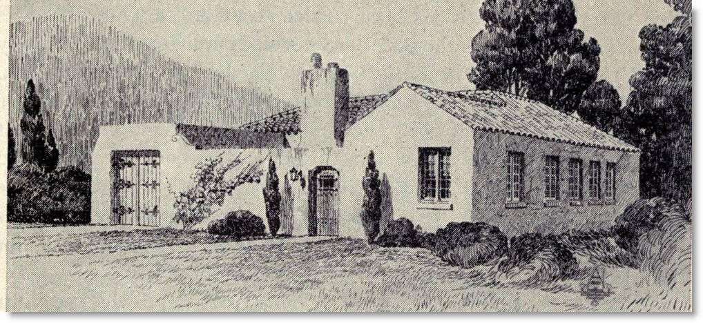Little guide to 1920s spanish revival homes soulful abode for 1900 architecture houses