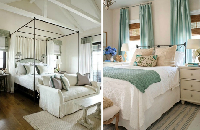 beachy bedrooms light bright and airy with minimal use of heavy