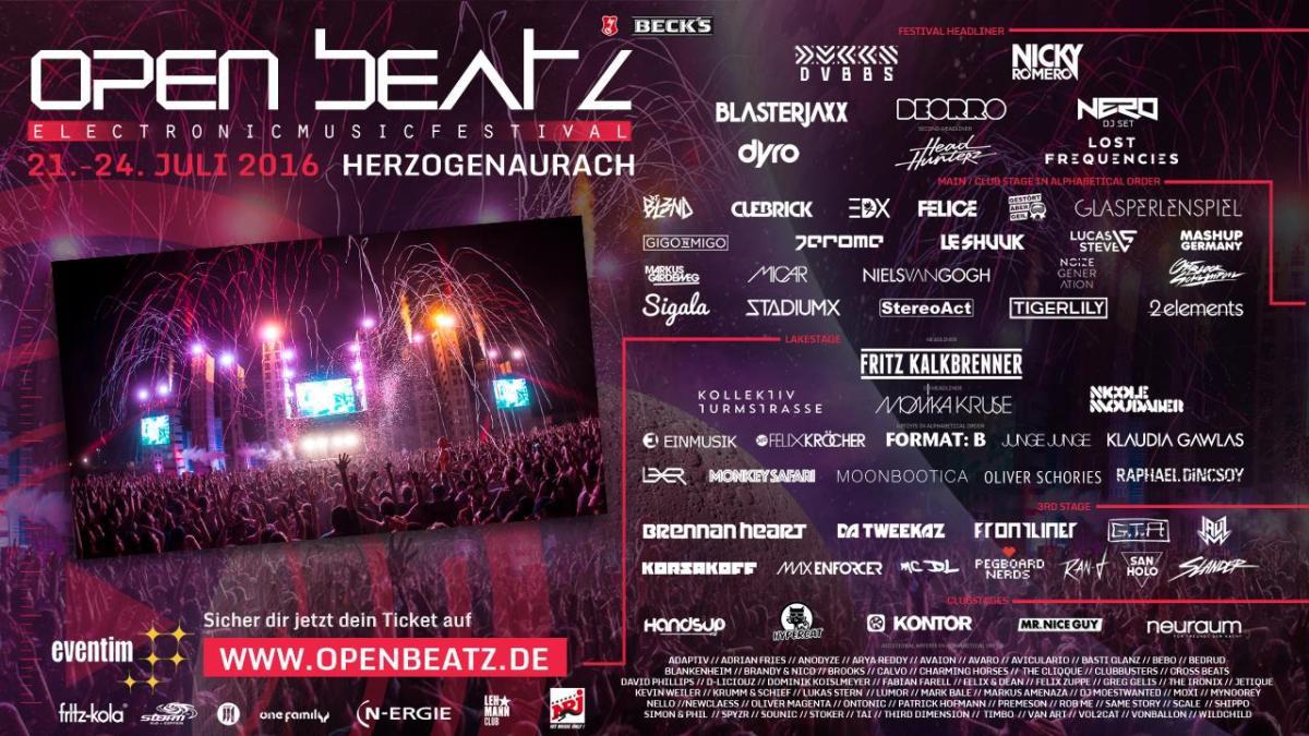 open beatz festival 2016 noch 30 tage 85 sold out helfer gesucht soulguru. Black Bedroom Furniture Sets. Home Design Ideas