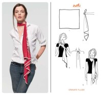 30 Stunning Ways to Wear a Hermes Scarf with Instructions